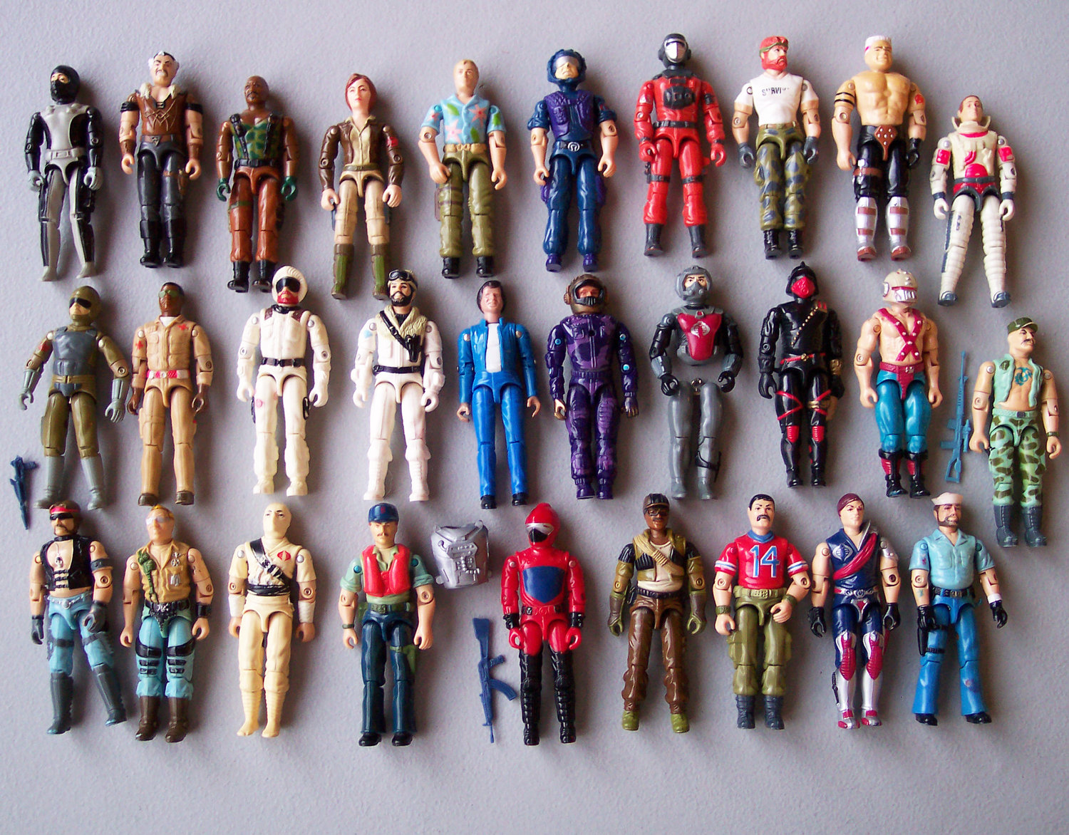 Vintage Gi Joe Action Figures
